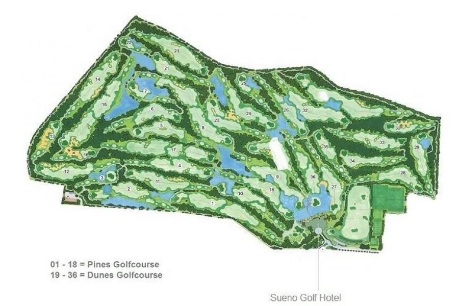 Sueno Golf Club Dunes 201